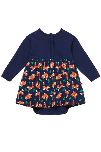 Fox Baby Body Dress -Long Sleeves - Piccalilly Fashion - Snugglefox