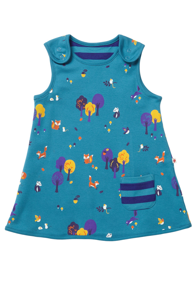 dae78d016c14 Woodland Reversible Dress - Piccalilly – Snugglefox