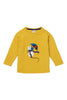Mustard Mouse Top -Long Sleeves - Piccalilly Fashion - Snugglefox
