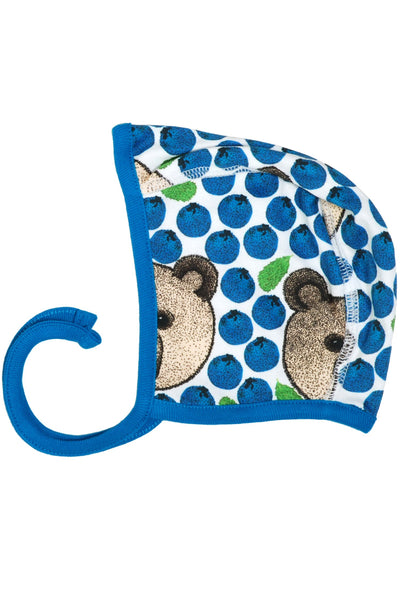 Bear Blue Baby Cap/ Bonnet - DUNS Fashion - Snugglefox