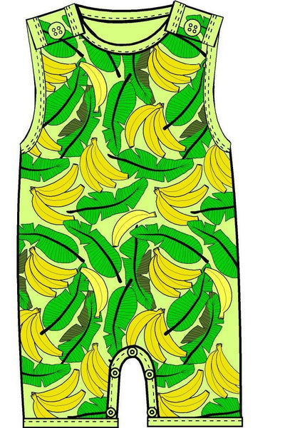 Summer Dungeree Pale Banana - DUNS Fashion - Snugglefox