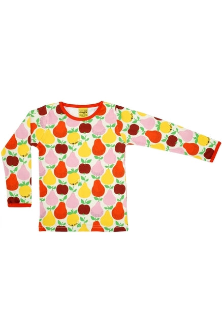 Mama DUNS Long Sleeve Top Fruits, Mandarin Red/ Yellow - DUNS Adult Fashion - Snugglefox