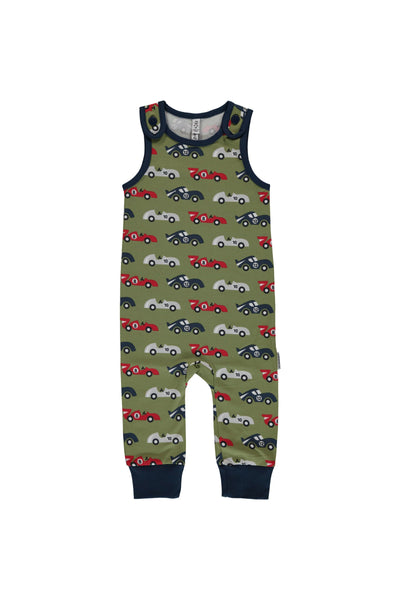 Race Cars - Playsuit - Maxomorra Fashion - Snugglefox