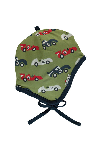 Race Cars - Hat - Helmet - Maxomorra Fashion - Snugglefox
