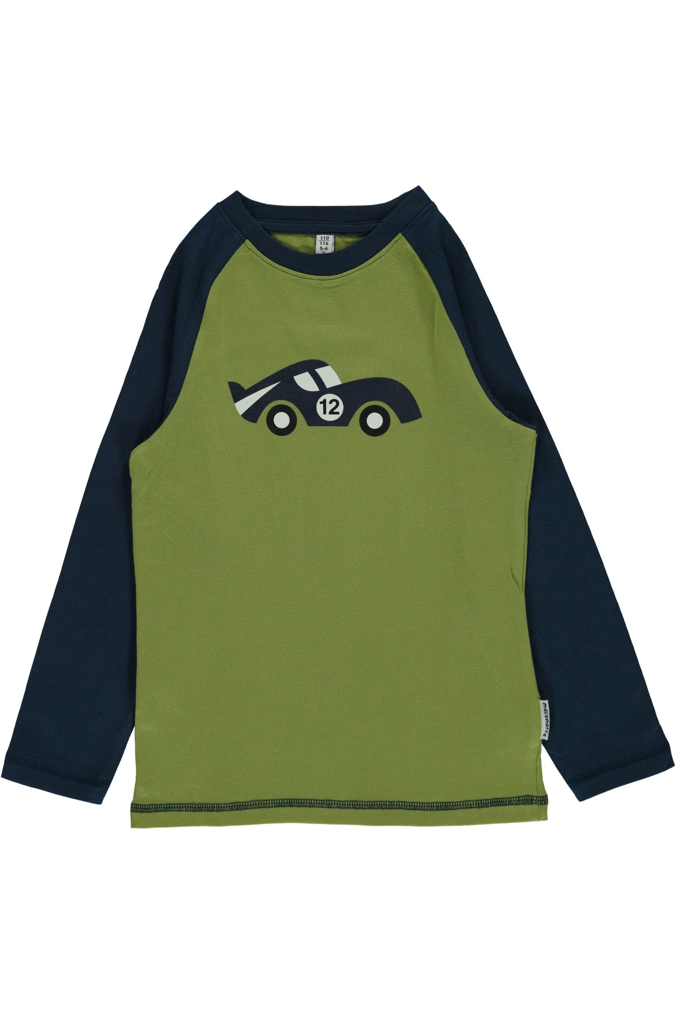 Race Cars - Long - Sleeve - Raglan Top - Maxomorra Fashion - Snugglefox
