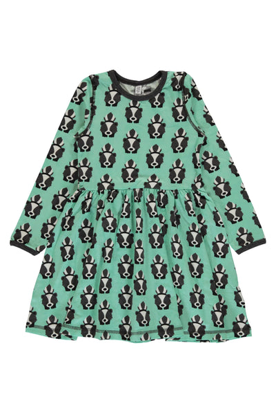 Skunk - Spin Dress - Long Sleeves - Maxomorra Fashion - Snugglefox