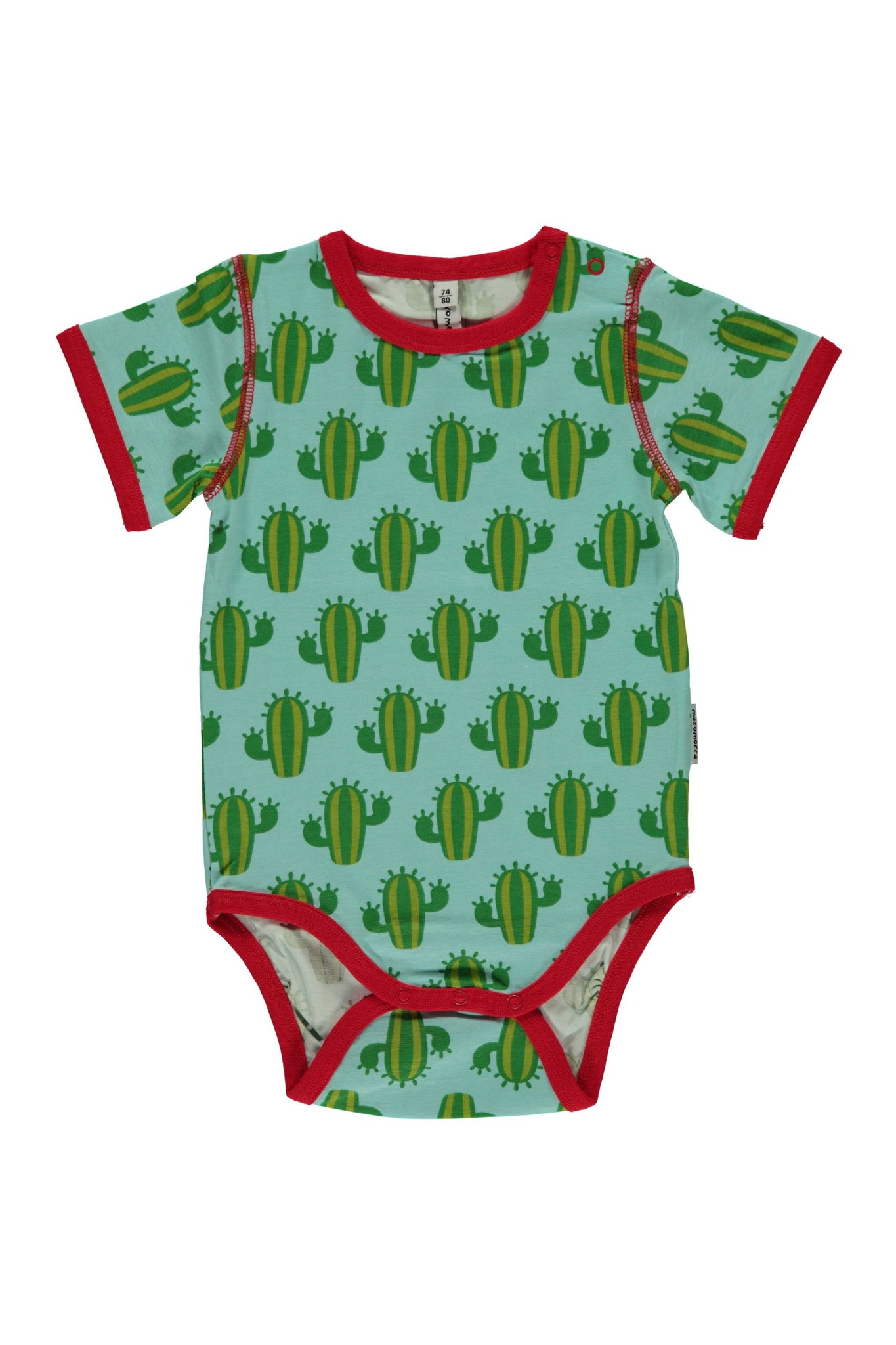 Cactus Body- Short Sleeves - Maxomorra Fashion - Snugglefox