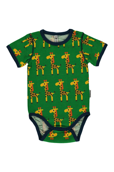 Giraffes Body- Short Sleeves - Maxomorra  - Snugglefox