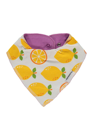 Dribble Bib - Lemon -Maxomorra