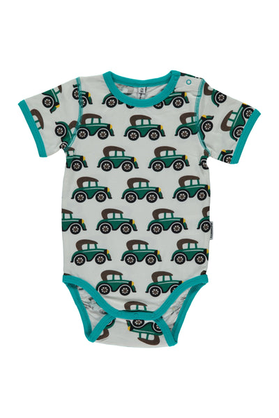 Veteran Cars  Body- Short Sleeves - Maxomorra Fashion - Snugglefox