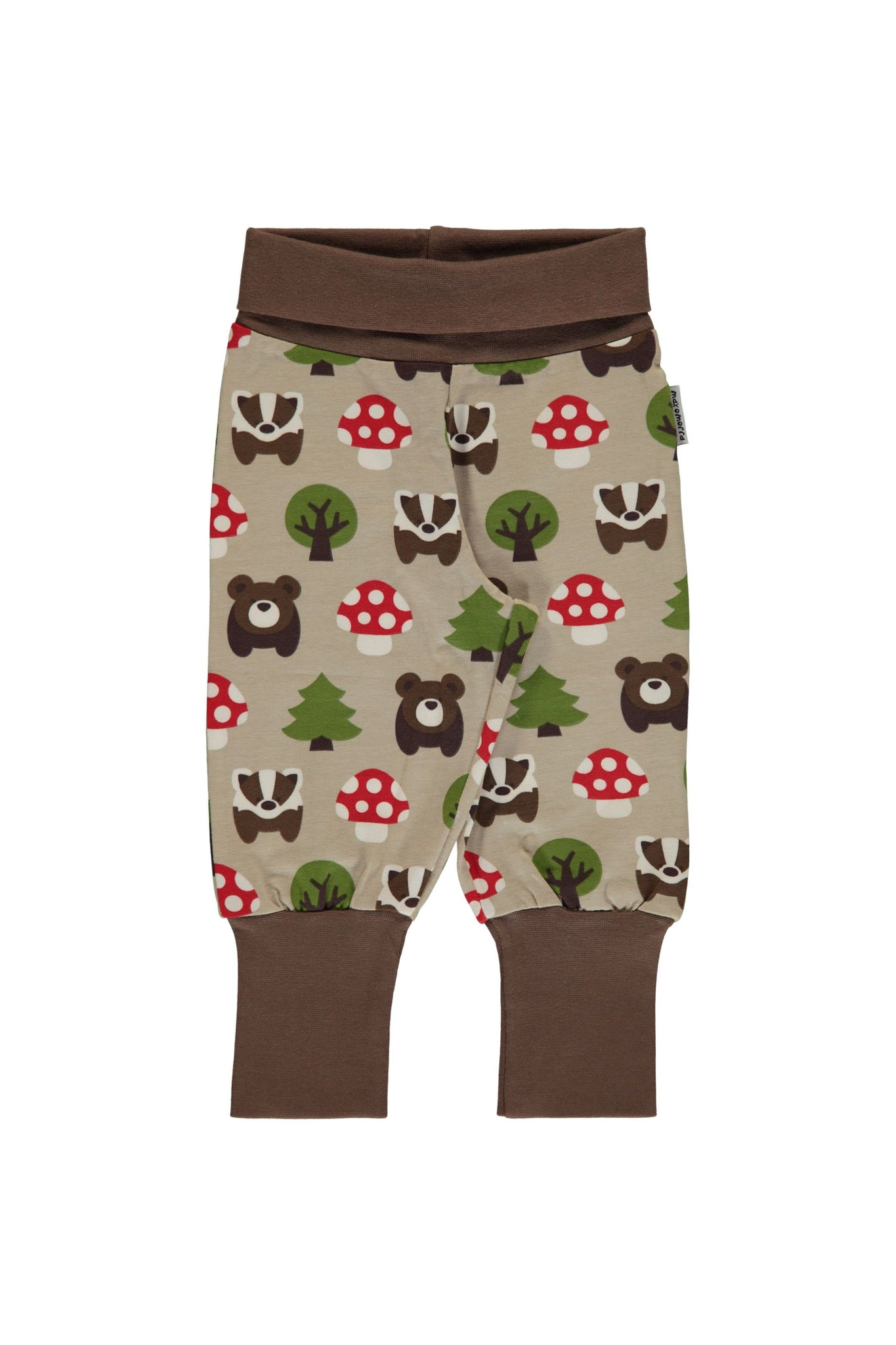 Forest - Rib - Pants - Maxomorra Fashion - Snugglefox