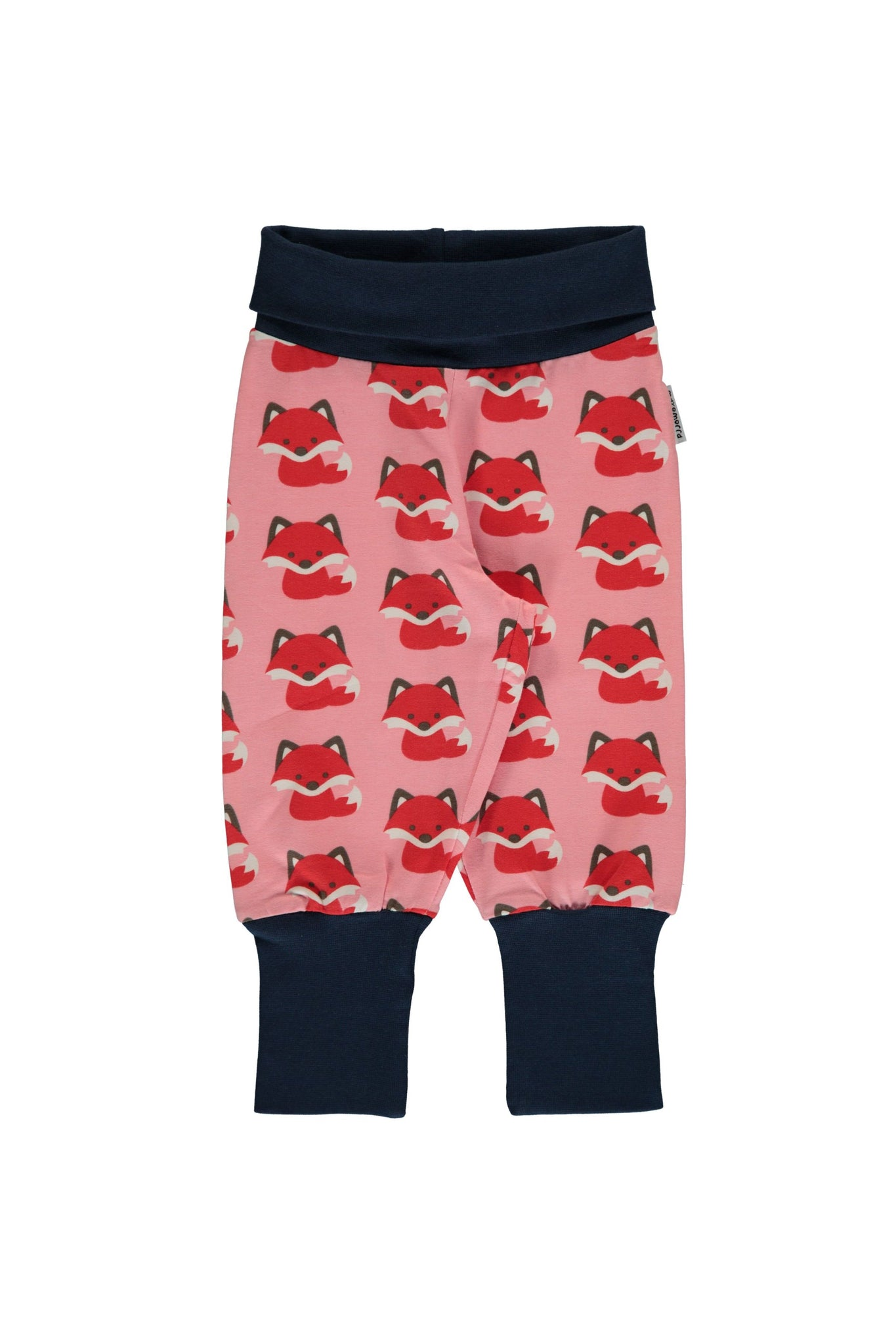 Fox - Rib - Pants - Maxomorra Fashion - Snugglefox