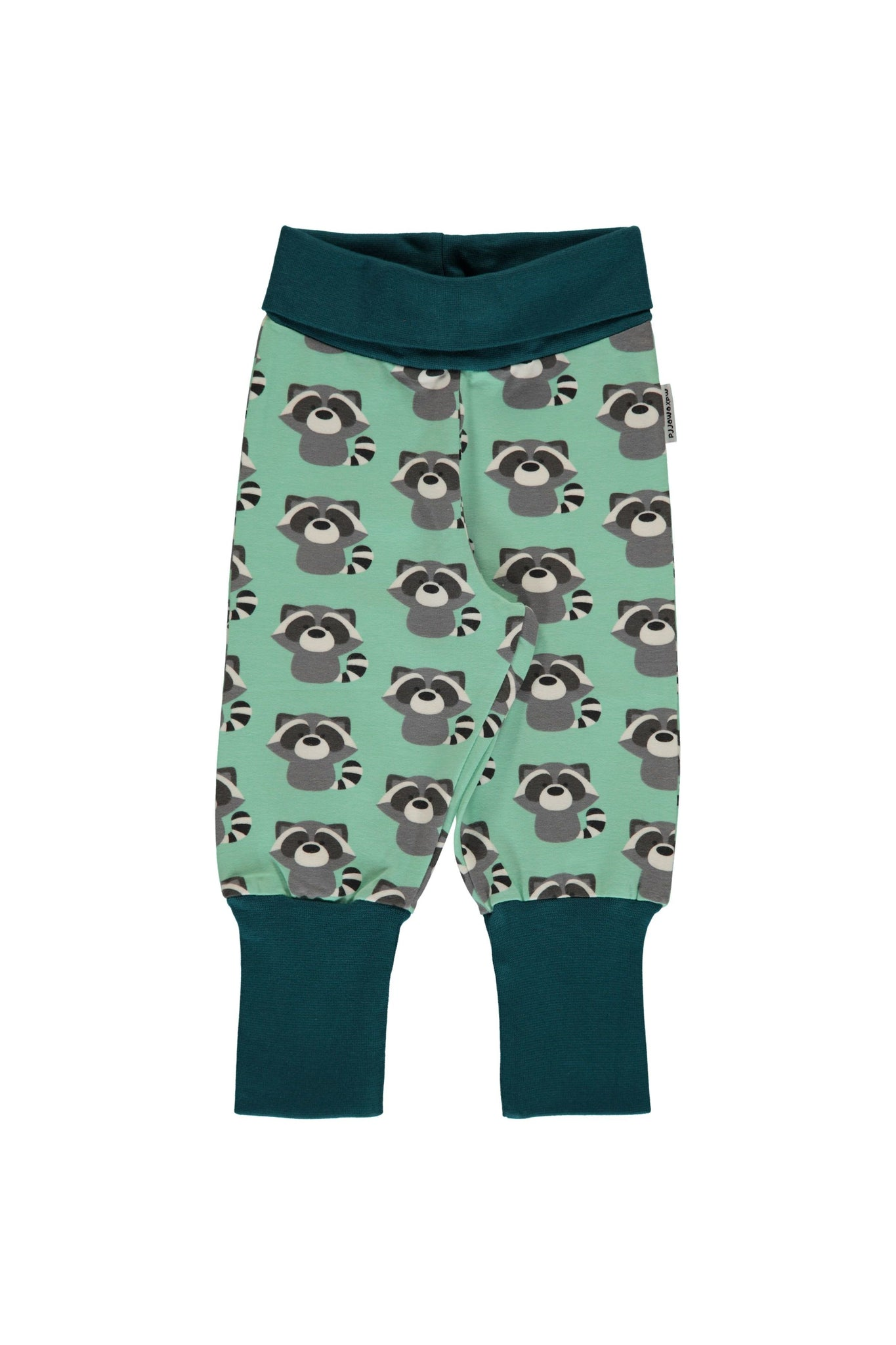 Raccoon - Rib - Pants - Maxomorra Fashion - Snugglefox