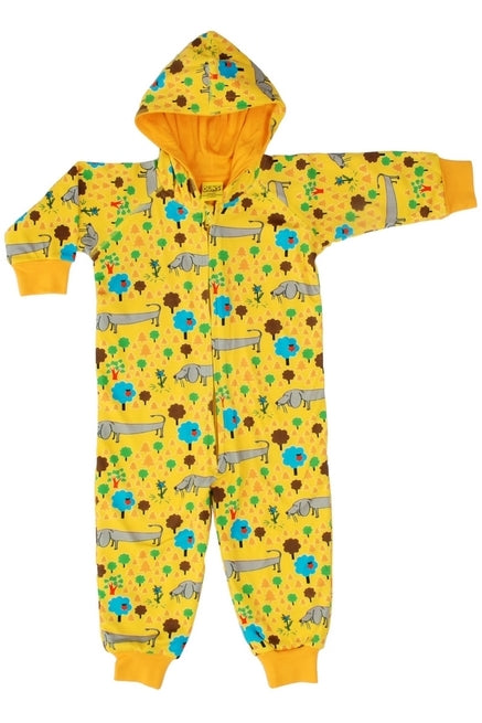 A-Dogs-life- Onesie - Yellow - DUNS Fashion - Snugglefox