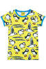 Short Sleeve Puffins Top Yellow - DUNS Fashion - Snugglefox