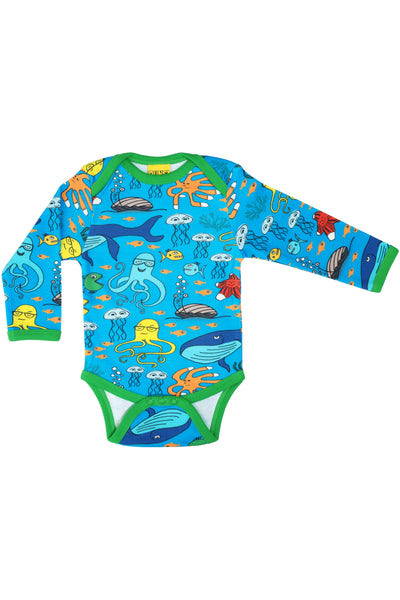 Long Sleeve Sealife Body Blue - DUNS Fashion - Snugglefox