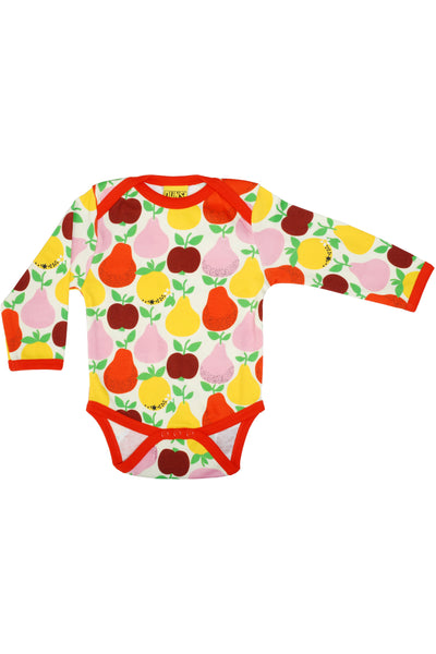 Long Sleeve Body Fruits Mandarin Red Yellow - DUNS Fashion - Snugglefox