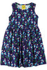 Mama Duns Dress Sleeveless with gather Skirt Forget me not Purple - DUNS Adult Fashion - Snugglefox
