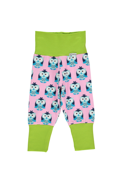 Owl Pants Rib - Maxomorra Fashion - Snugglefox