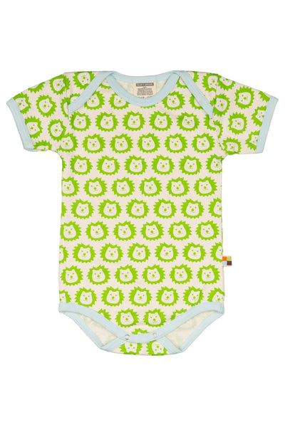 Lion Lime Short Sleeve Body - loud+proud Fashion - Snugglefox
