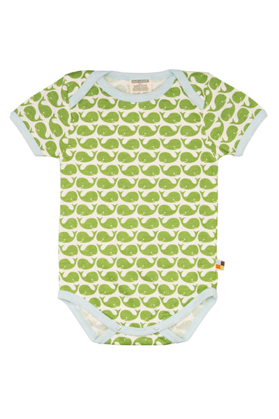 Whale Moss Short Sleeve Body - loud+proud Fashion - Snugglefox