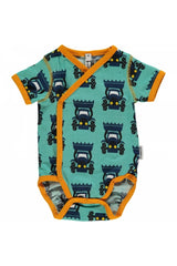 Tractor Body Wrap Short Sleeve - Maxomorra  Fashion - Snugglefox