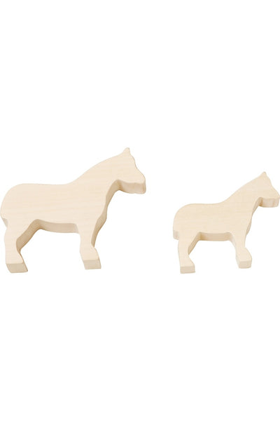 Work Pieces Horse Terra Kids - HABA Toys - Snugglefox