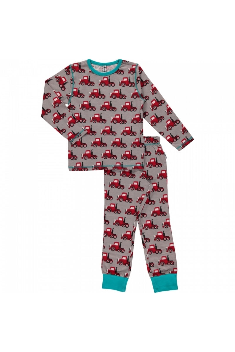 Truck Pyjama Set - Long Sleeves - Maxomorra Fashion - Snugglefox