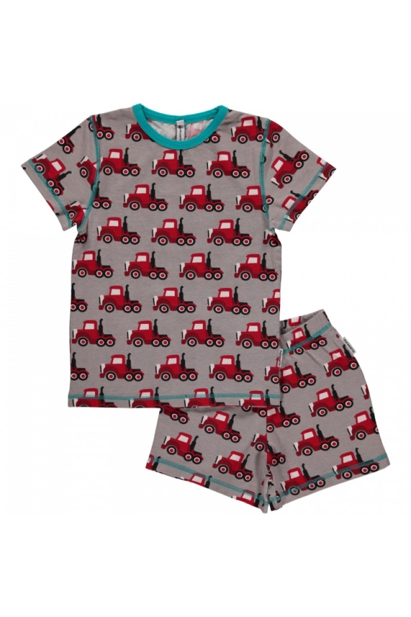 Truck Pyjama Set - Short Sleeves - Maxomorra Fashion - Snugglefox