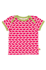 Rose Red T-Shirt Whale - loud+proud Fashion - Snugglefox