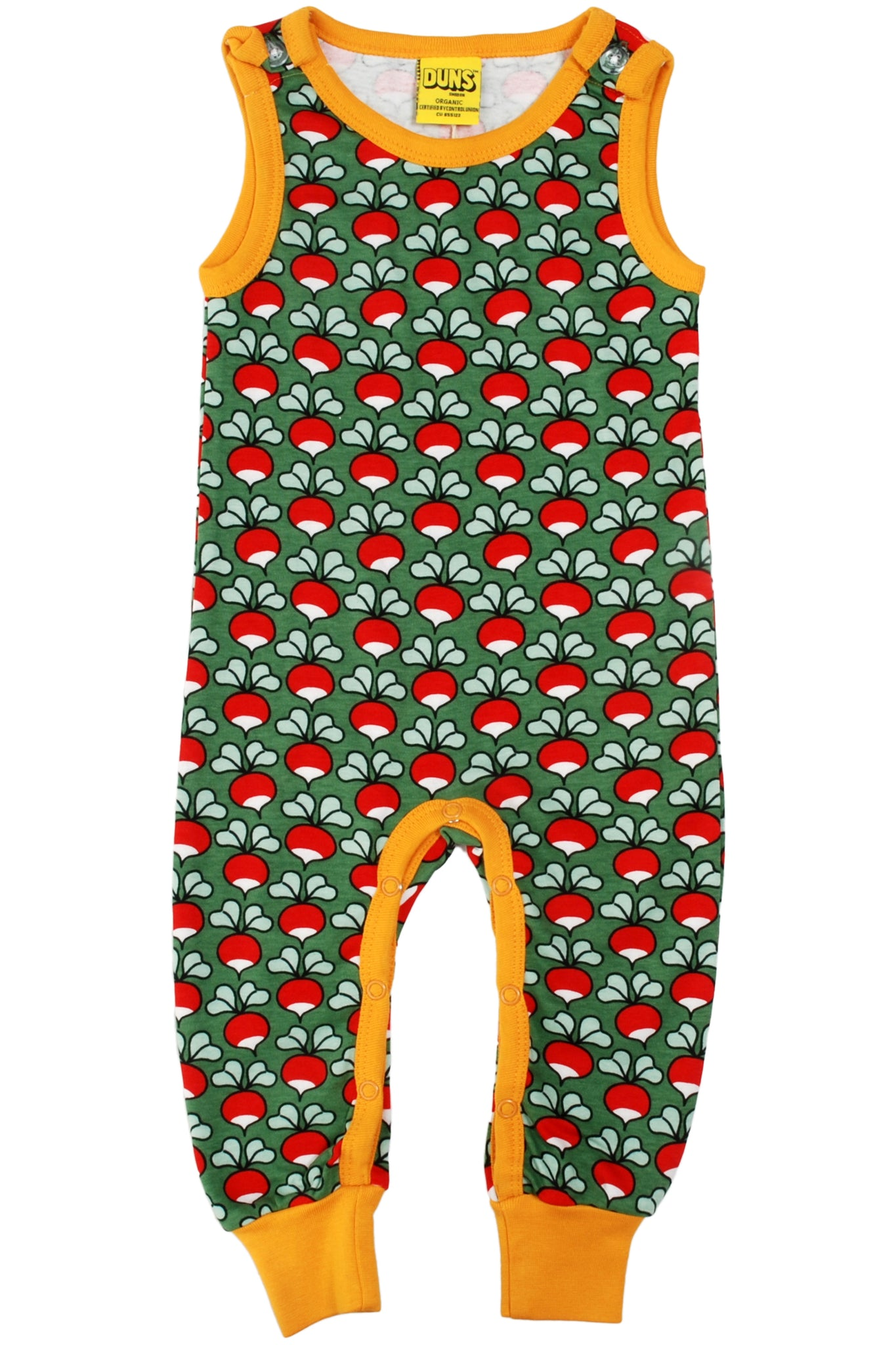 Dungaree Radishes - Dark Green - DUNS Fashion - Snugglefox
