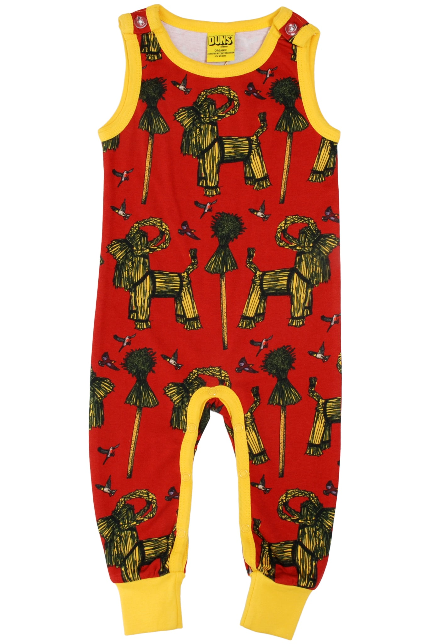 Dungaree Sheaf - Red - DUNS Fashion - Snugglefox