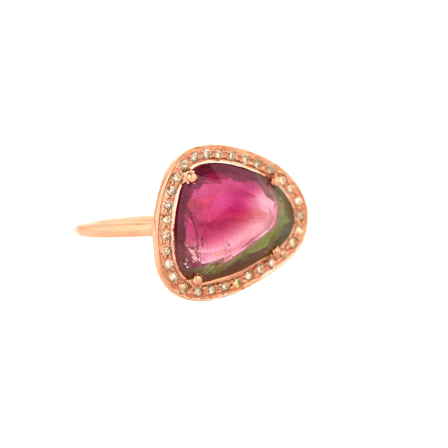 Bague One Of Kind Stella tourmaline et diamants