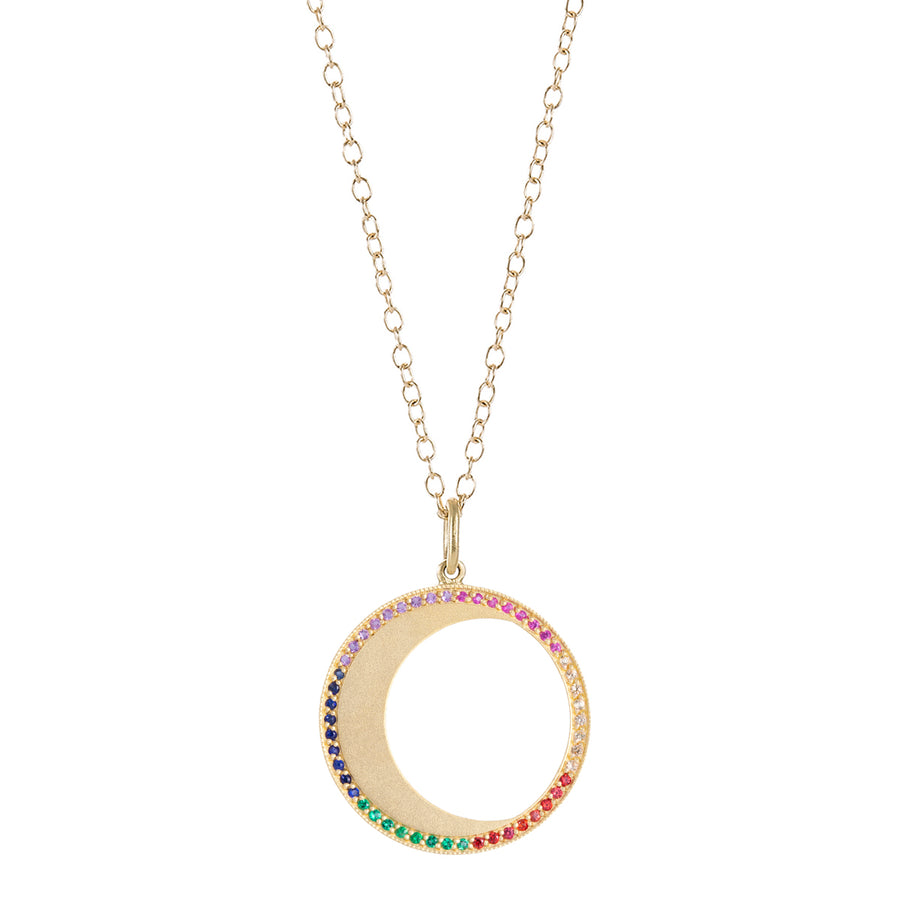 Collier Lune saphirs - Andrea Fohrman - Colliers pour femme - Mad Lords