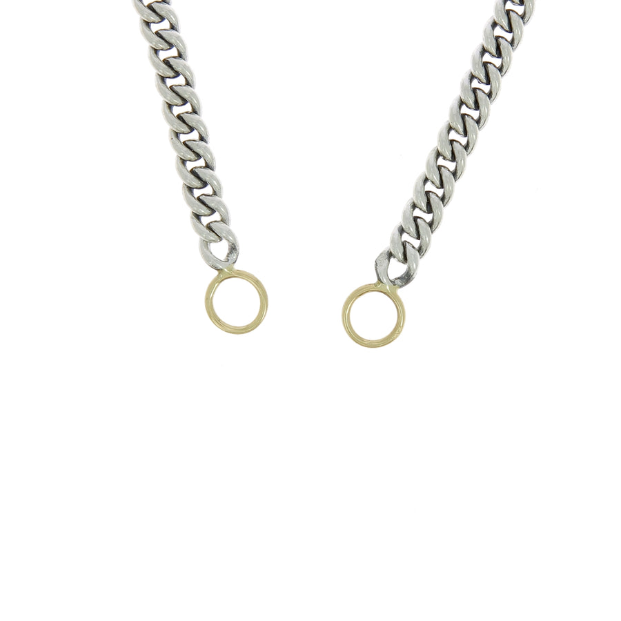 Collier 22 Heavy Curb Fermoir Or Jaune