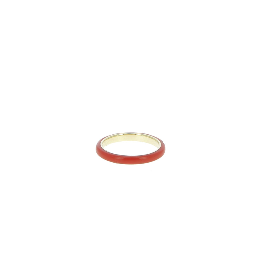 Bague Rouge 3 Diamants