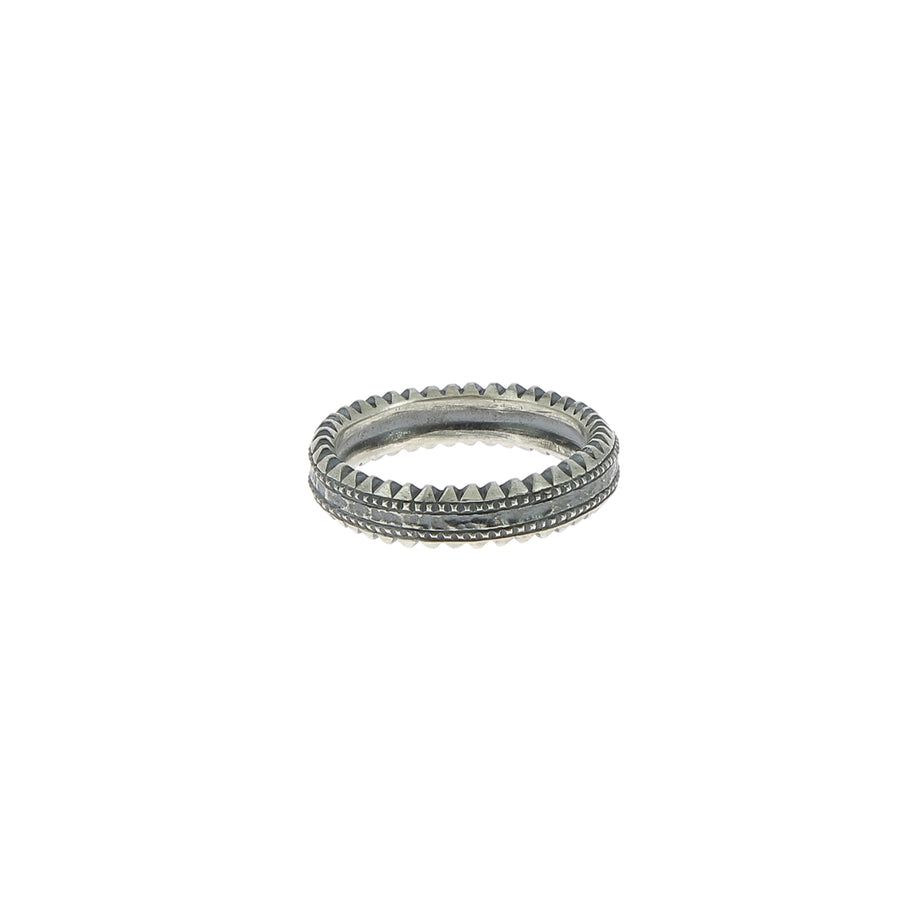 Bague fine 5 diamants