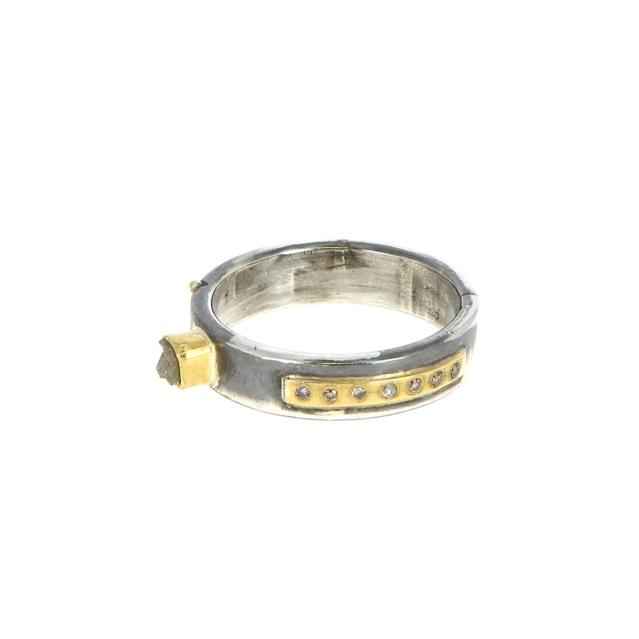 Bague Raw Diamant - Bergsoe - Bagues pour homme - Mad Lords
