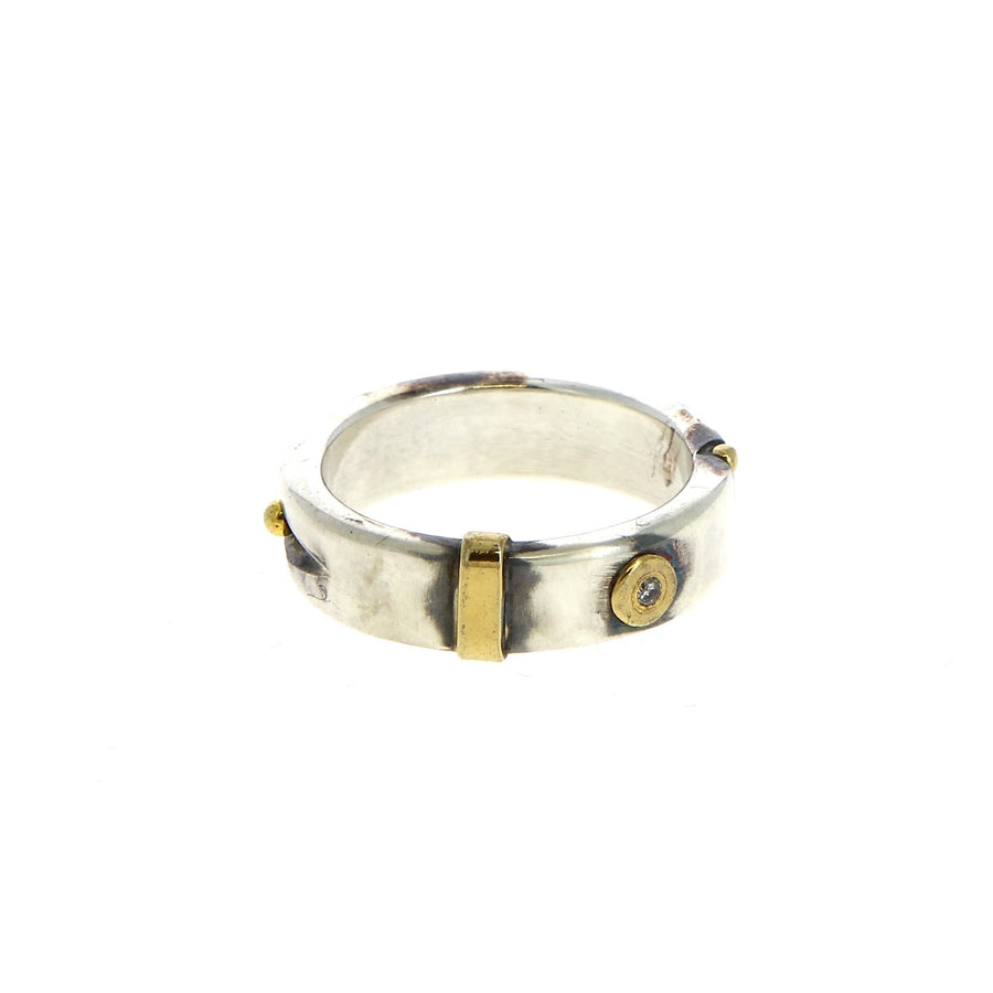 Bague One Diamond - Bergsoe - Bagues pour homme - Mad Lords