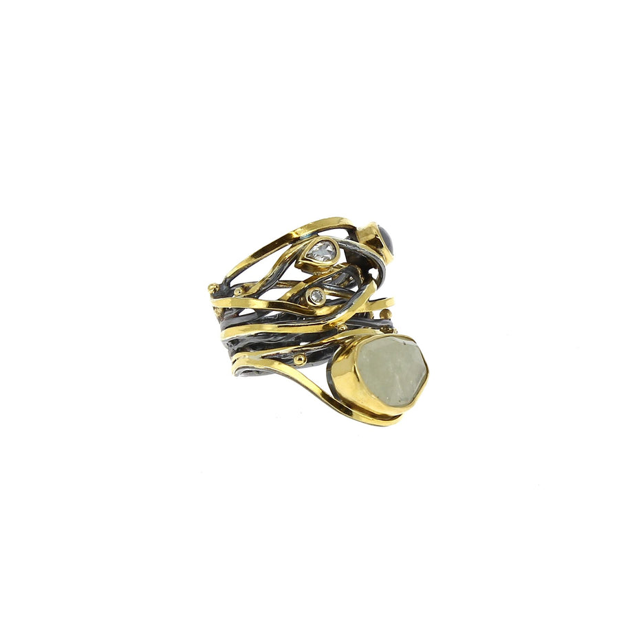 Bague Twisted - Bergsoe - Bagues pour femme - Mad Lords
