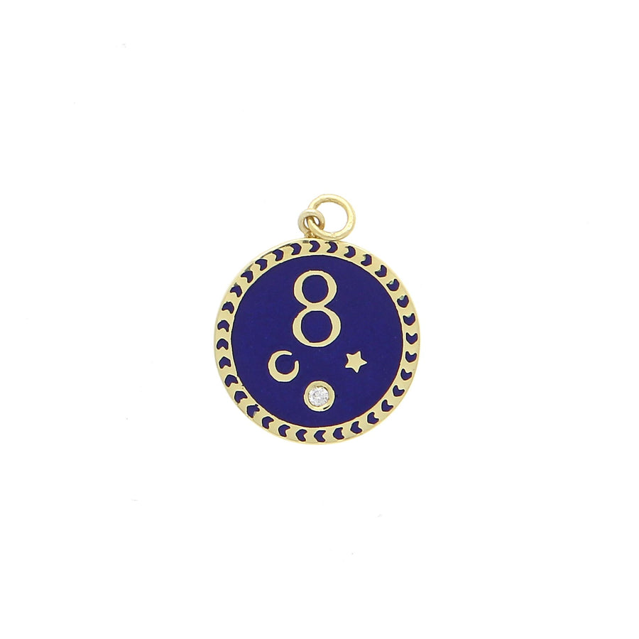 Pendentif Karma Blue - Foundrae - Colliers pour femme - Mad Lords