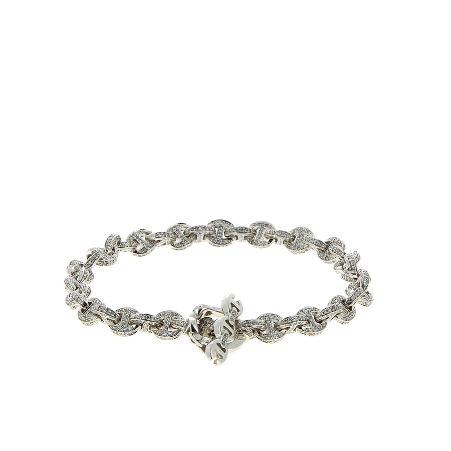 Bracelet Open Link Diamonds