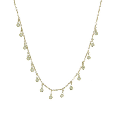 Collier Diamond Drop
