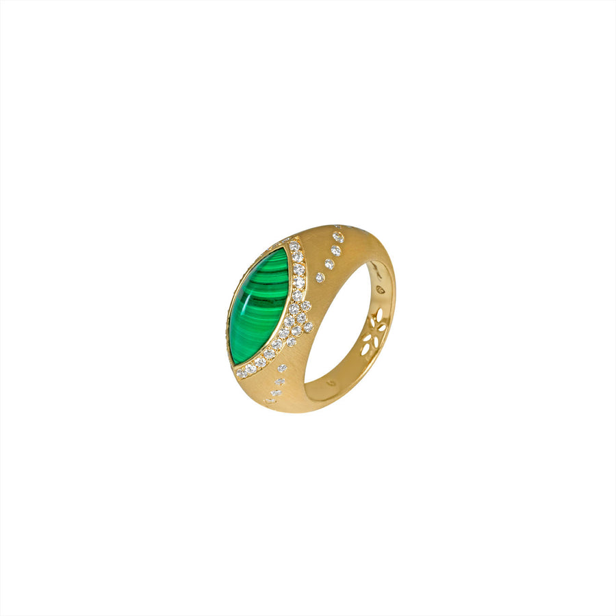 Bague Sultane Malachite