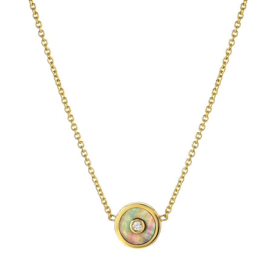 Collier Pearl Compass