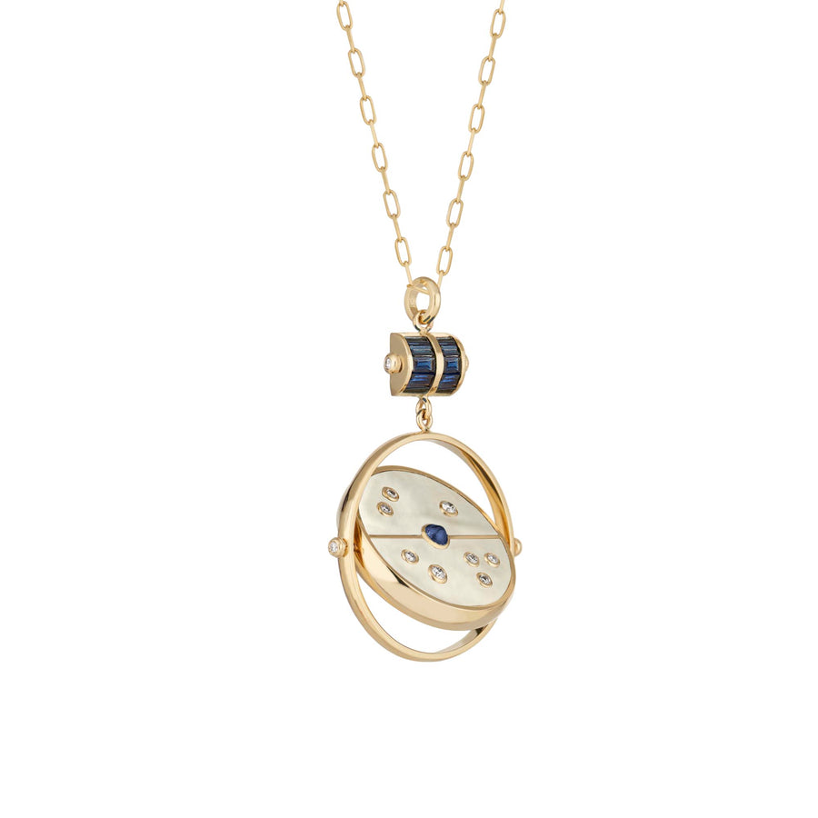 Collier Grandfather Compass