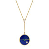 Collier Lapis Diamant Compass - Retrouvai - Colliers pour femme - Mad Lords