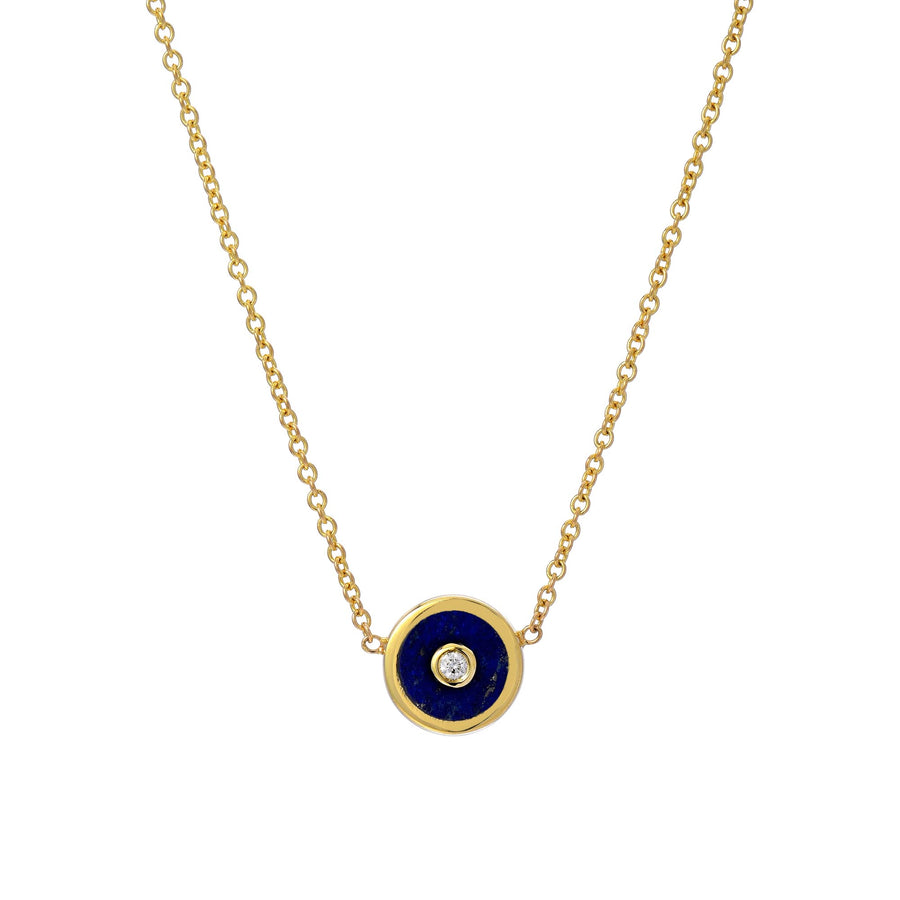 Collier Lapis Compass