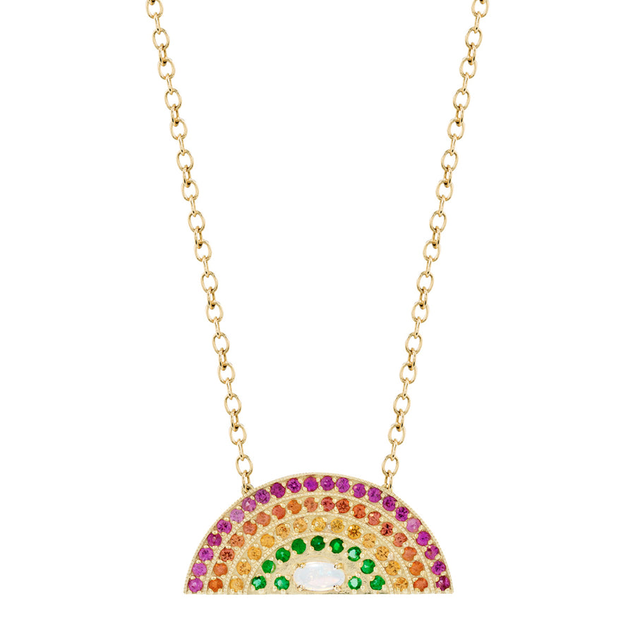Collier arc en ciel saphirs - Andrea Fohrman - Colliers pour femme - Mad Lords