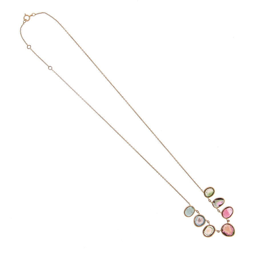 Collier Multi Tourmaline